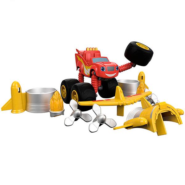 Mattel Blaze DYP38 Вспыш и чудо-машинки Трансформер машинка blaze вспыш и чудо машинки 8 см в ассортименте