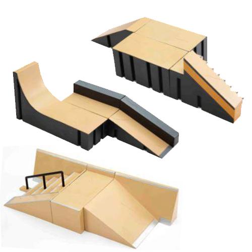 Tech Deck 13855 Тек Дек набор из 1 фингерборда с парковым набором