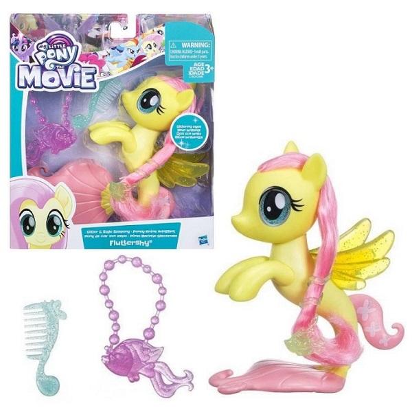 Hasbro My Little Pony C0683/C1832 Май Литл Пони Мерцание пони-модницы Флатершай мульти пульти мягкая игрушка принцесса луна 18 см со звуком my little pony мульти пульти