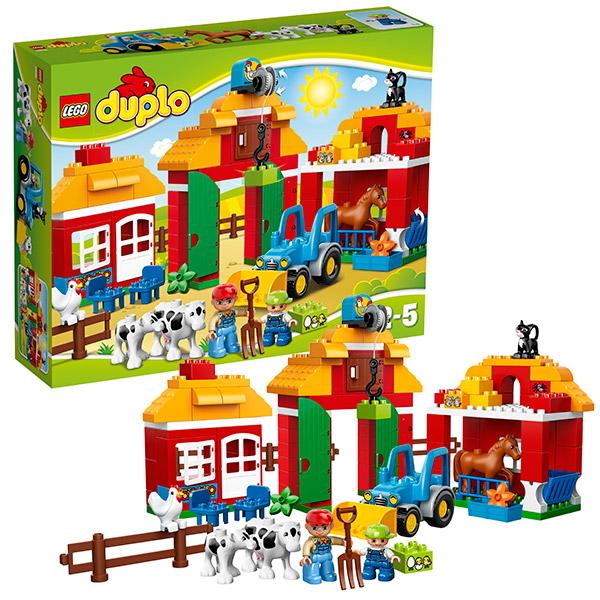 Lego Duplo 10525 Лего Дупло Большая ферма лего дупло ферма
