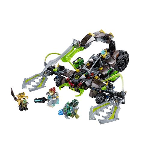 Лего Legends of Chima 70132 Конструктор Жалящая машина скорпиона Скорма