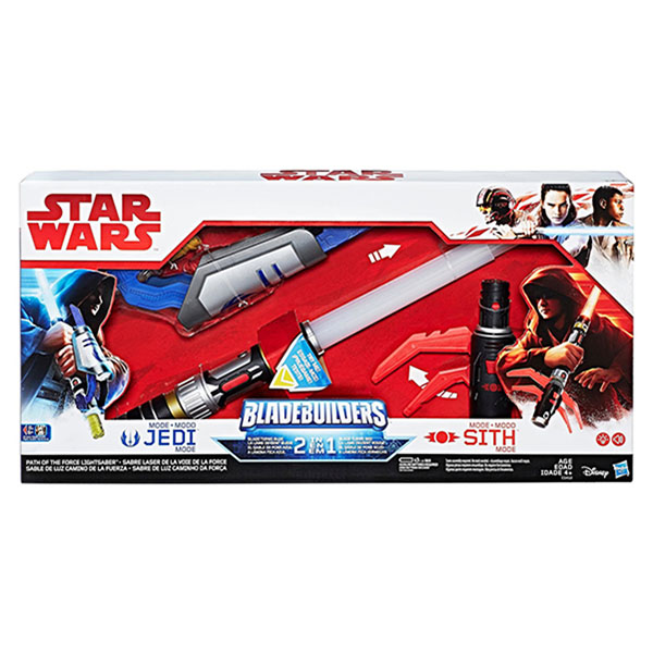 """Hasbro Star Wars C1412 Звездные Войны Cветовой меч """"Выбери свой путь"""" Эпизод 8"""