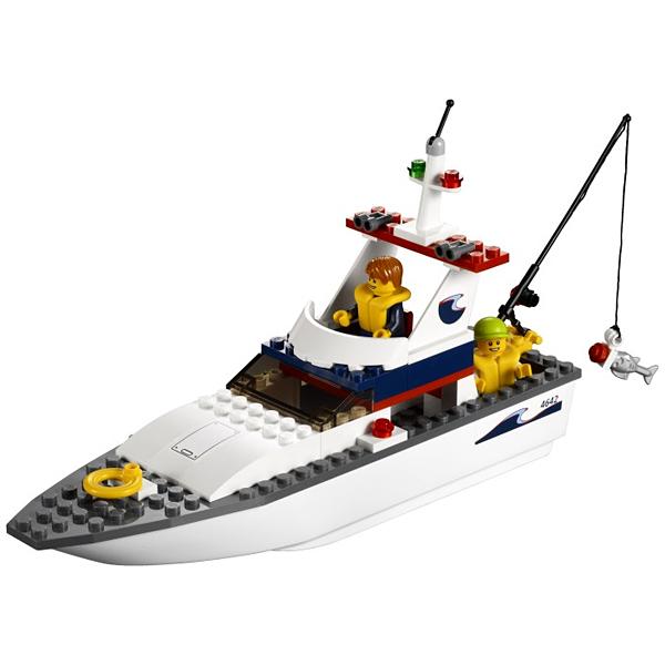 LEGO City 4642 Конструктор ЛЕГО Город Рыболовное судно