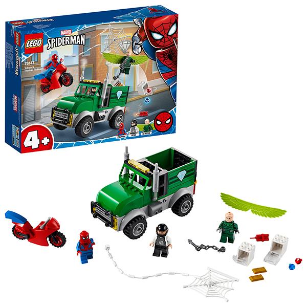 LEGO Super Heroes 76147 Конструктор ЛЕГО Супер Герои Ограбление Стервятника цена и фото