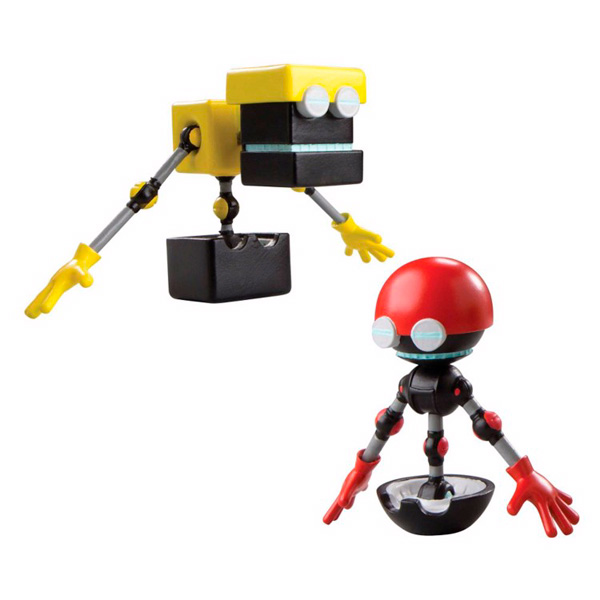 Sonic Boom T22502 Соник Бум 2 фигурки в блистере 7,5 см, в ассортименте