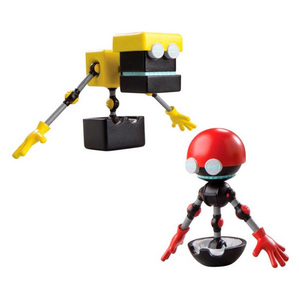Sonic Boom T22502 Соник Бум 2 фигурки в блистере 7,5 см (в ассортименте)