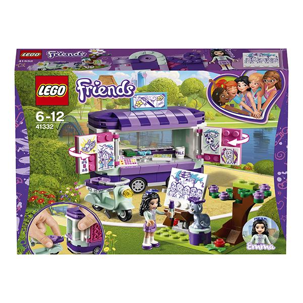 LEGO Friends 41332 Конструктор ЛЕГО Подружки Передвижная творческая мастерская Эммы