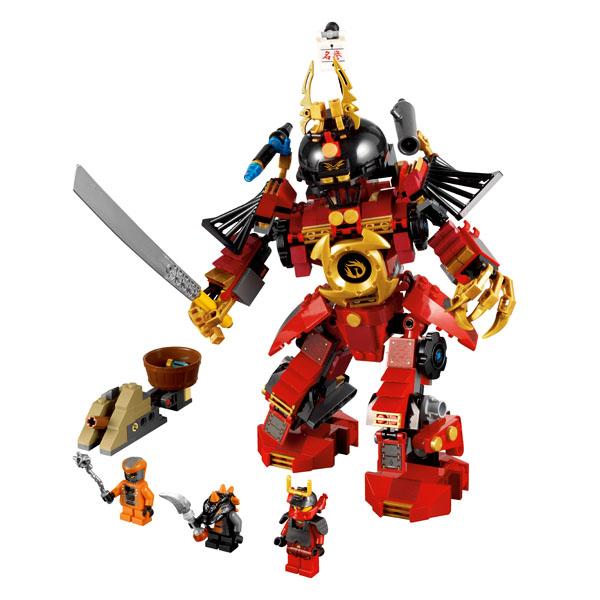Lego Ninjago 9448 Конструктор Лего Ниндзяго Механический самурай