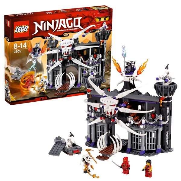 Lego Ninjago 2505 Конструктор Лего Ниндзяго Тёмная крепость Гармадона