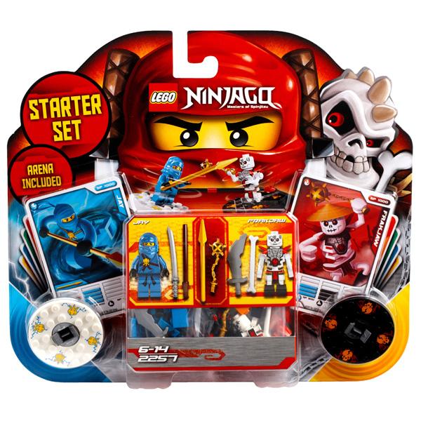 Lego Ninjago 2257 Конструктор Лего Ниндзяго Кружитцу - набор для начинающих