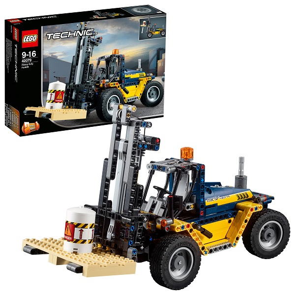 LEGO Technic 42079 Конструктор ЛЕГО Техник Сверхмощный вилочный погрузчик bruder погрузчик вилочный linde h30d