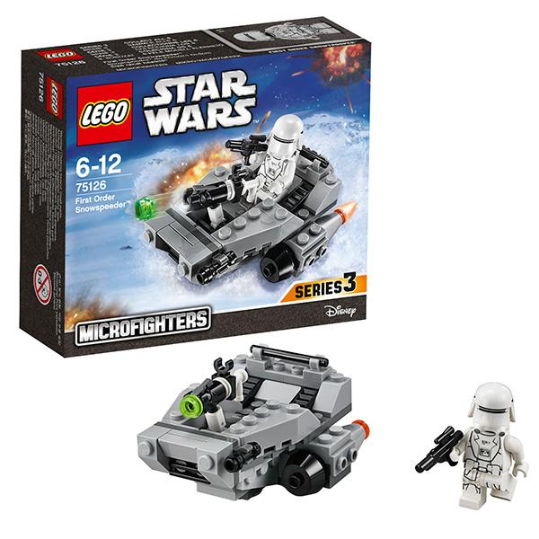 Lego Star Wars Снежный спидер Первого Ордена 75126