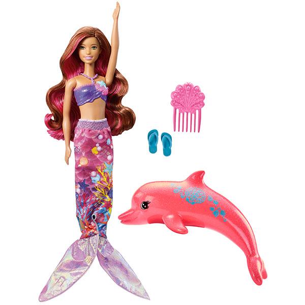 Mattel Barbie FBD64 Барби Русалка-трансформер из серии Морские приключения barbie кукла сестра барби морские приключения barbie fbd69