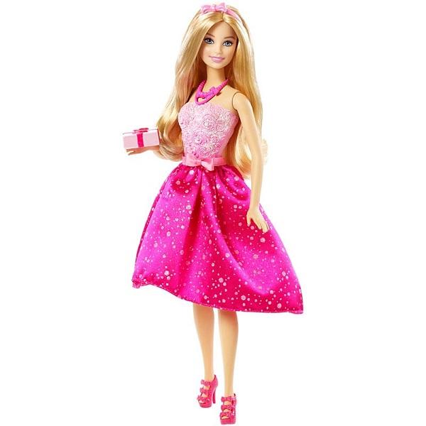"""Mattel Barbie DHC37 Барби Кукла """"С Днём Рождения"""""""