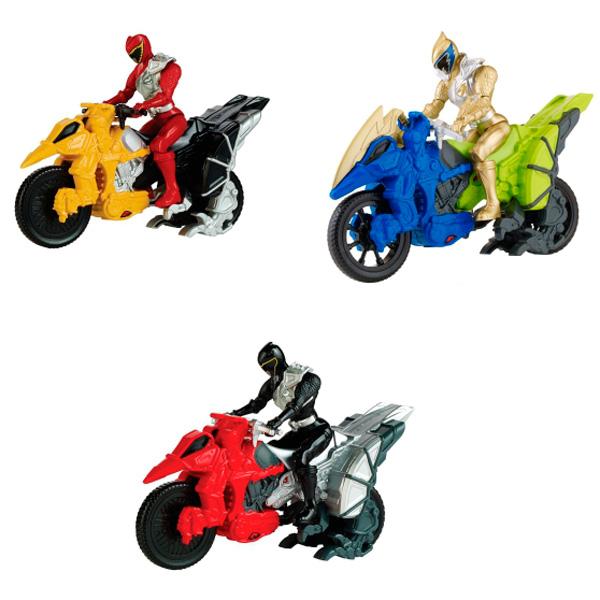 Power Rangers Samurai Dino Charge 43070 Пауэр Рейнджерс Динобайк+Фигурка 12 см (в ассортименте) игрушка power rangers могучие рейнджеры dino charge фигурка 10 см в ассортименте