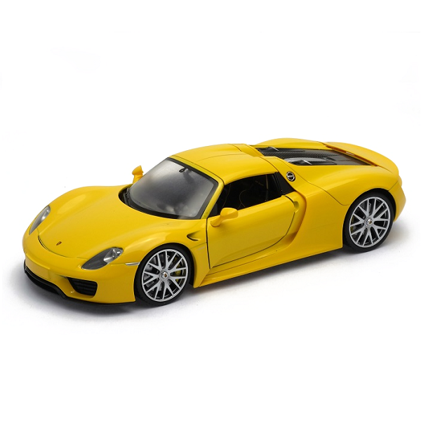 Welly 24055 Велли Модель машины 1:24 Porsche 918 Spyder автомобиль welly porsche cayman s 1 24