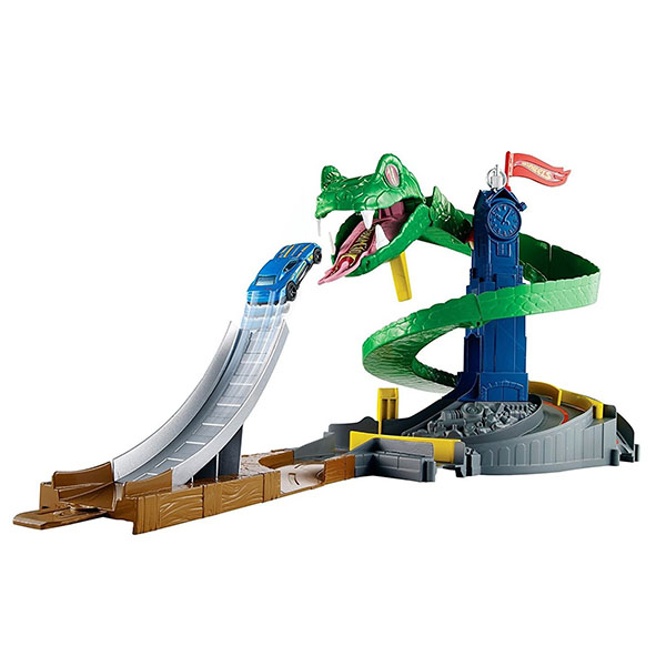 "Mattel Hot Wheels FNB20 Хот Вилс Сити Игровой набор ""Бросок Кобры"""