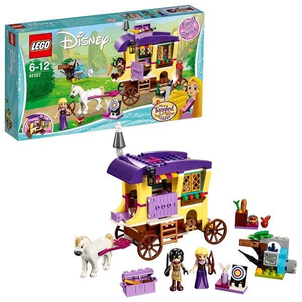 Lego Disney Princess 41157 Конструктор Лего Принцессы Дисней Экипаж Рапунцель lego disney princess 41150 лего принцессы путешествие моаны через океан