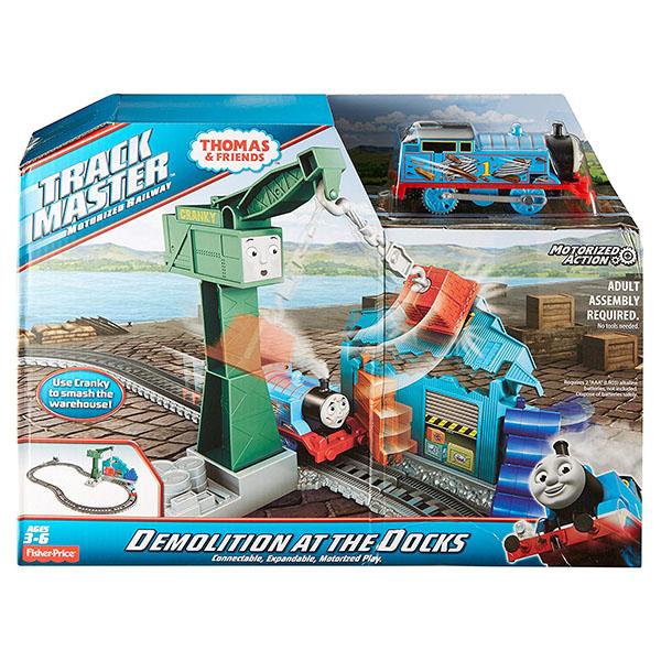Mattel Thomas & Friends DVF73 Томас и друзья Игровой набор с Томасом и подъемным краном Крэнки