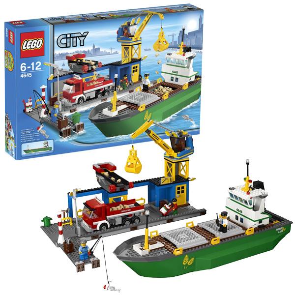 LEGO City 4645 Конструктор ЛЕГО Город Гавань
