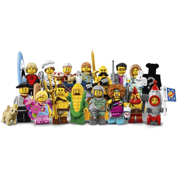 Lego Minifigures 71018 Лего Минифигурки LEGO® 2017 версия 2