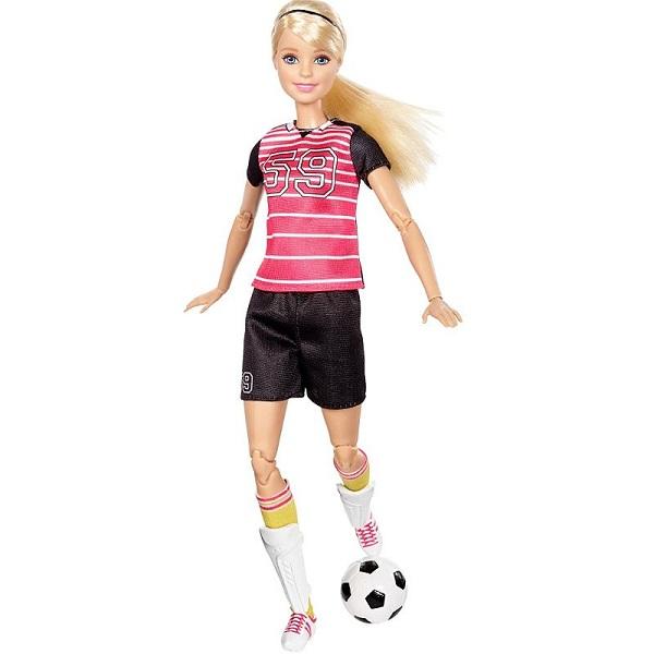 Фото - Mattel Barbie DVF69 Барби Футболистка набор школьниика barbie