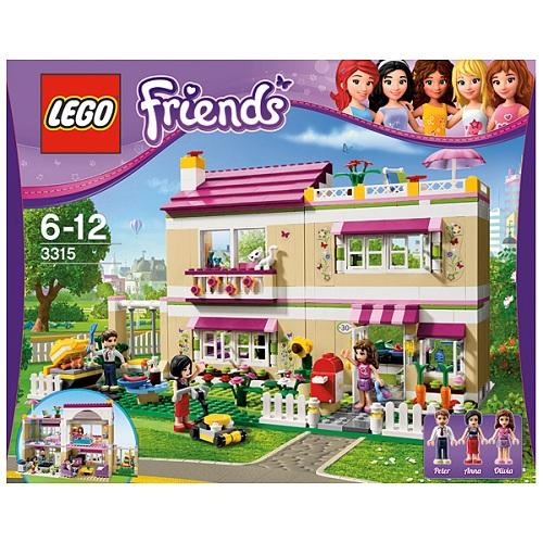 Конструктор Lego Friends 3315 Лего Подружки В гостях у Оливии