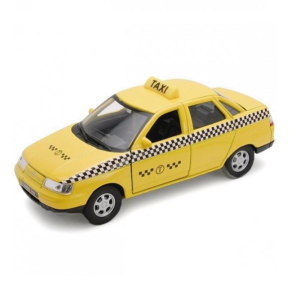 Welly 42385TI Велли Модель машины 1:34-39 LADA 110 ТАКСИ машины drift машина фрикционная такси