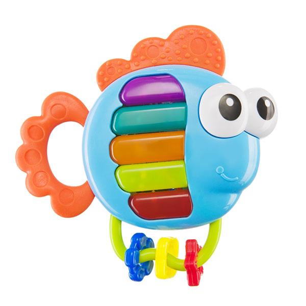 Happy Baby 330369 Музыкальная игрушка PIANO FISH