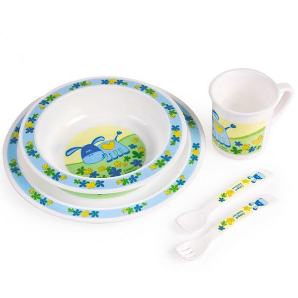 Canpol babies 210307010 Набор обеденный пластиковый, 12+