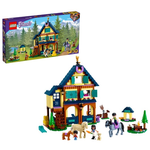 LEGO Friends 41683 Конструктор ЛЕГО Подружки Лесной клуб верховой езды