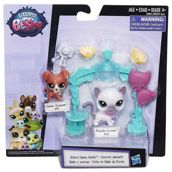 Hasbro Littlest Pet Shop B9347 Игровой набор Чудесные приключения