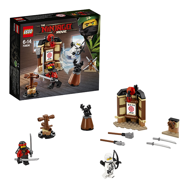Lego Ninjago 70606 Конструктор Лего Ниндзяго Уроки Мастерства Кружитцу