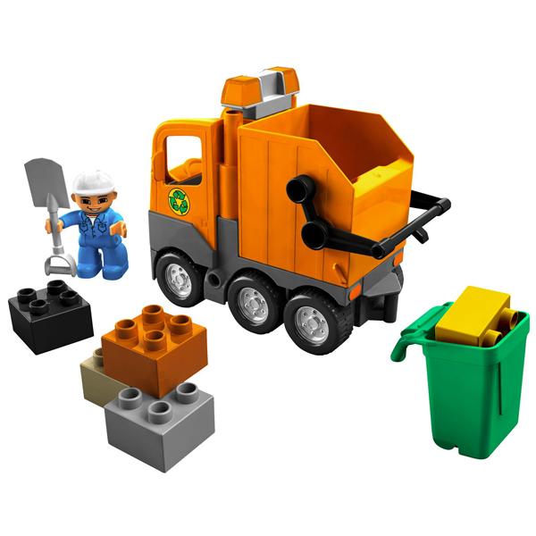 Lego Duplo 5637 Конструктор Мусоровоз