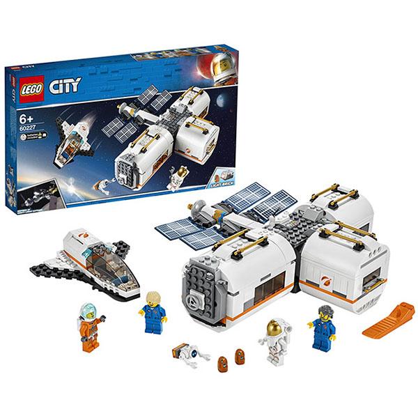 LEGO City 60227 Конструктор ЛЕГО Город Лунная космическая станция