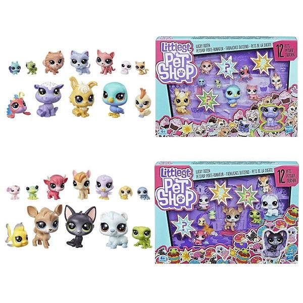 Hasbro Littlest Pet Shop E3034 Литлс Пет Шоп Игровой набор 12 счастливых петов pet shop boys brasília
