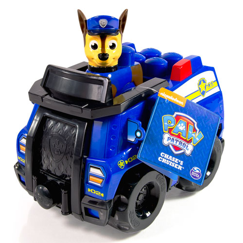 Paw Patrol 18304 Щенячий патруль Конструктор Полицейский патруль