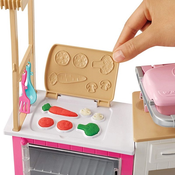 купить кукла Mattel Barbie Frh73 барби супер кухня с куклой в