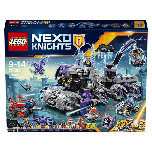 Lego Nexo Knights 70352 Лего Нексо Штурмовой разрушитель Джестро