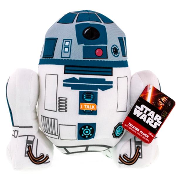 Star Wars SW02368 Звездные войны R2-D2 плюшевый со звуком starwars star wars sw02365 звездные войны дарт вейдер плюшевый со звуком