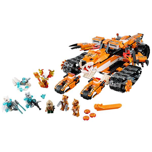 Lego Легенды Чима 70224 Конструктор Передвижной командный пункт Тигров