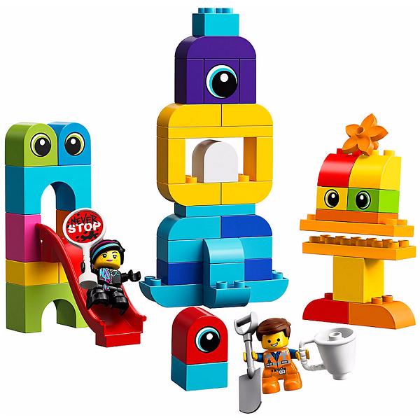 Lego Duplo 10895 Конструктор Лего Дупло The LEGO Movie 2: Пришельцы с планеты DUPLO lego конструктор дупло детский сад