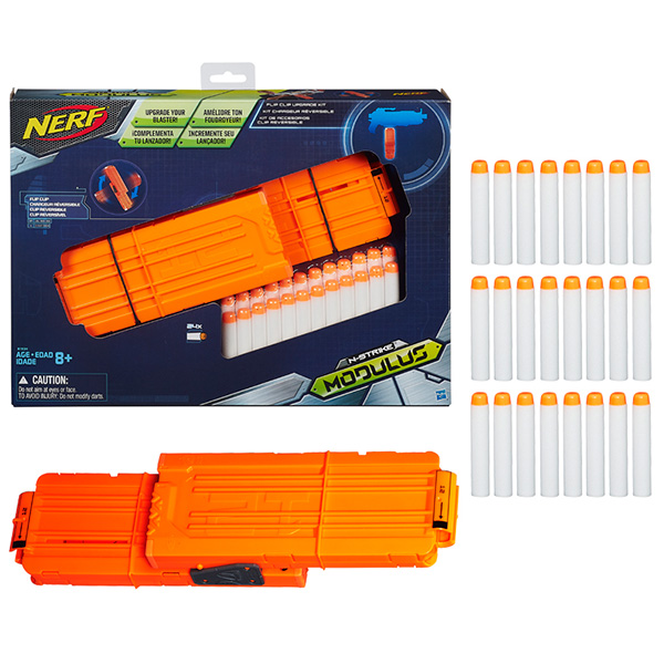 Hasbro Nerf B1534 Нерф Модулус сет1: Запасливый боец игрушечное оружие nerf hasbro зомби страйк 30 стрел
