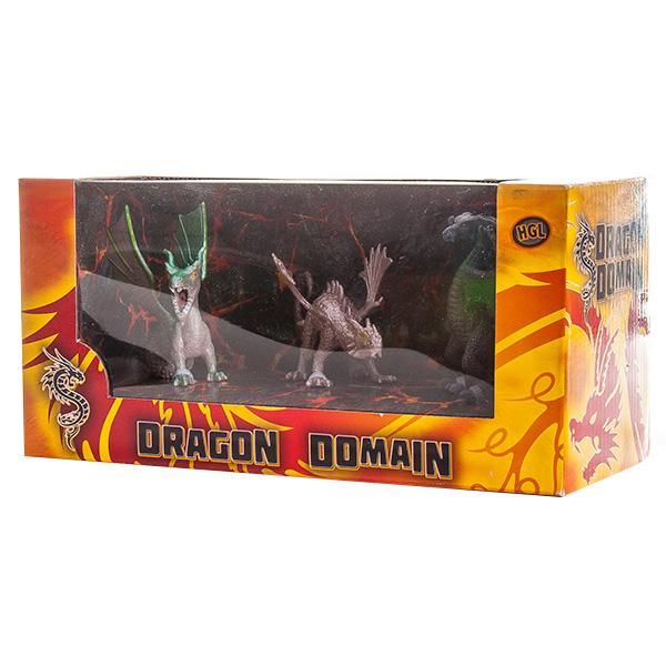 Megasaurs SV11692 Мегазавры Драконы 3 шт (в ассортименте)