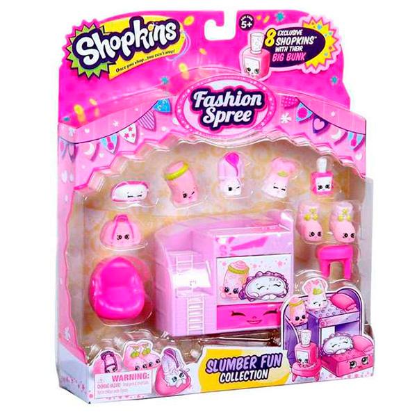 """Shopkins 56296 Шопкинс Игровой набор """"Модная лихорадка"""" Веселый сон  игровые наборы shopkins игровой набор модная лихорадка хранение обуви"""