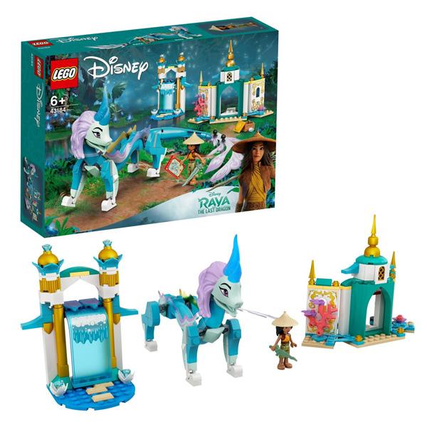 LEGO Disney Princess 43184 Конструктор ЛЕГО Принцессы Дисней Райя и дракон Сису