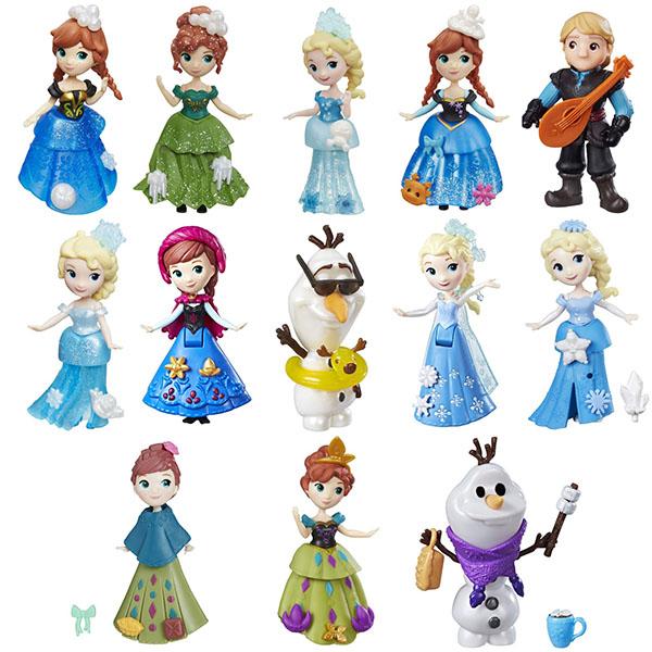 Hasbro Disney Princess C1096 Маленькие куклы Холодное сердце (в ассортименте)
