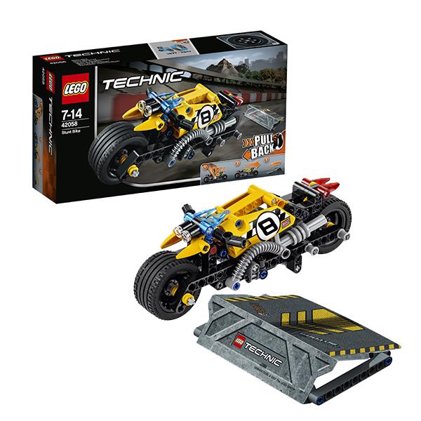 Lego Technic 42058 Конструктор Лего Техник Мотоцикл для трюков lego technic 8293 лего техник мотор power functions