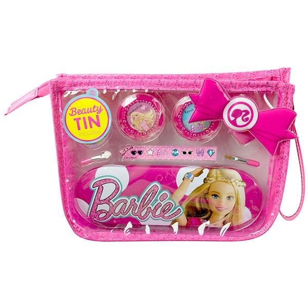 Markwins 9600451 Barbie Набор детской декоративной косметики в сумочке