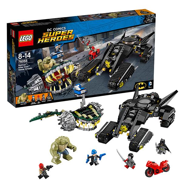 Lego Super Heroes 76055 Лего Супер Герои Бэтмен: Убийца Крок конструктор lego super heroes 76054 бэтмен жатва страха